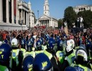 مظاهرات سابقة ضد الإغلاق في بريطانيا