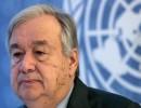 الأمين العام للأمم المتحدة أنطونيو غوتيريس (أرشيفية)