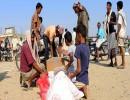 مساعدات غذائية إلى اليمن