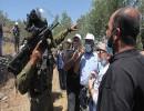 مواجهات بين الفلسطينيين مع الجيش الإسرائيلي
