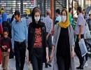 تشعر السلطات الإيرانية بقلق إزاء ارتفاع عدد الإصابات