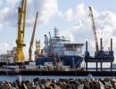 السفينة أكاديميك تشيرسكي التي تعمل لتشييد خط أنابيب الغاز