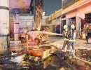شاهد : السيطرة على حريق خزان وقود في محطة بجدة