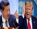 الرئيس الصيني والامريكي