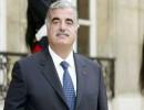 رفيق الحريري رئيس حكومة لبنان الراحل