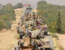 القوات التركية على الحدود السورية
