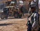 جندي في معسكر التاجي بالعراق