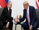 الرئيس الأمريكي، دونالد ترامب، الرئيس الروسي، فلاديمير بوتين