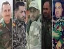 ضباط كبار بقوات الأسد