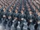 عرض عسكري خيالي للجيش الصيني .. فيديو