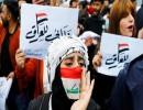 من تظاهرات العراق نهاية 2019