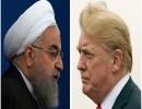 الرئيسان دونالد ترمب والإيراني حسن روحاني