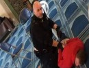 لحظة اعتقال منفذ الهجوم في مسجد لندن الخميس