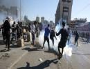 اشتباكات في ساحة الخلاني (فرانس برس)