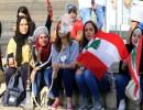 متظاهرات لبنان