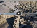 بالفيديو : فيديو جوي يظهر الدمار الذي لحق بمدينة حلب السورية