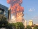 شاهد: فيديوهات انفجار مرفأ بيروت