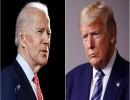 الرئيس الأميركي دونالد ترمب والمرشح الديمقراطي جو بايدن