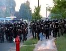 وحدات من الشرطة الأمريكية في مدينة مينيابوليس