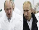 الرئيس الروسي فلاديمير بوتين ورجل الأعمال بيفجيني بريجوزين