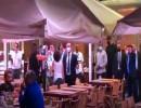 شاهد : متظاهرين يتهجّمون في بيروت على وفد عراقي ومضيفيه