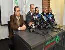 مؤتمر صحفي للاعلان عن الاصابة