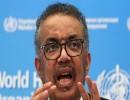 المدير العام لمنظمة الصحة العالمية، تيدروس أدهنوم غيبريسوس