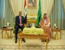 رئيس الوزراء العراقي، عادل عبد المهدي و الملك سليمان