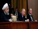 قادة إيران وروسيا وتركيا