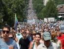 مظاهرة حاشدة خرجت قبل أسبوع في خاباروفسك