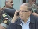 شاهد ..  رسالة الرئيس عون إلى الجيش اللبناني على الجبهة