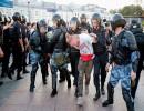 كندا قالت إنها تشعر بقلق عميق إزاء اعتقال متظاهرين وإعلاميين في روسيا-