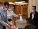 الأسد وزوجته ينتخبان