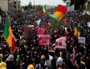 اقتحام مئات المتظاهرين مقر التلفزيون المالي