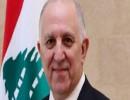 وزير الداخلية اللبنانى محمد فهمى