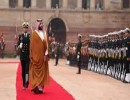 بالفيديو : مراسم استقبال ولي العهد السعودي محمد بن سلمان في الهند