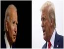 الرئيس الأمريكي دونالد ترامب والمرشح الديمقراطي للرئاسة جو بايدن