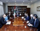 ميشال عون خلال الاجتماع الرئاسي