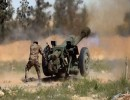 عنصر من قوات حكومة الوفاق في ليبيا
