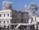 شاهد القصف على الغوطة الشرقية خلال الساعات الماضية
