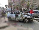 انفجار عبوة ناسفة بسيارة في دمشق