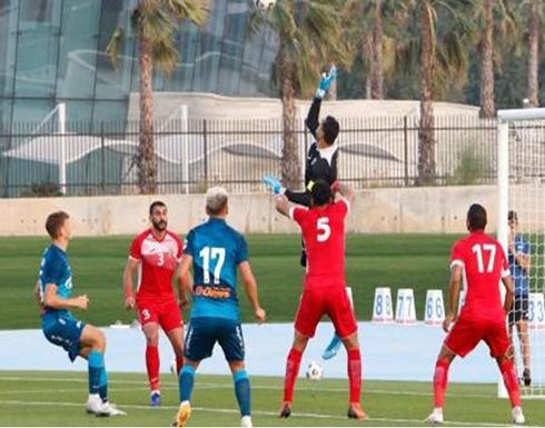 منتخب الأردن يخسر أمام فريق بالدوري الروسي .. فيديو