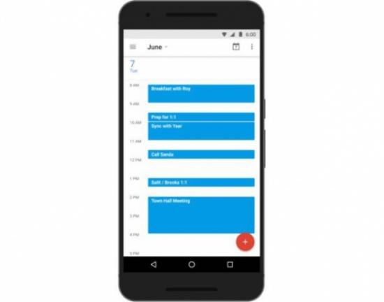 """تطبيق Google Calendar لمنصة الأندرويد يحصل على ميزة """" Find A Time """""""