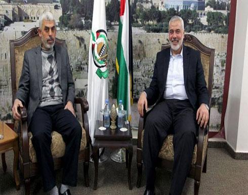 """""""هنية"""" و""""السنوار"""" يلتقيان قادة الفصائل الفلسطينية بغزة"""