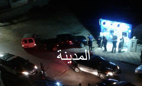 عاجل بالصور : سطو مسلح على صيدلية في حي الصحابة جنوب عمان