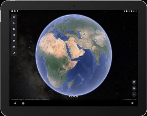 جوجل تدعم رؤية النجوم والمجرات على تطبيق Google Earth المحمول