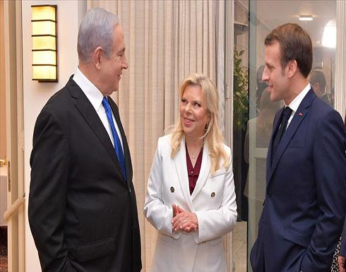 نتنياهو يلتقي مع الرئيس الفرنسي ماكرون