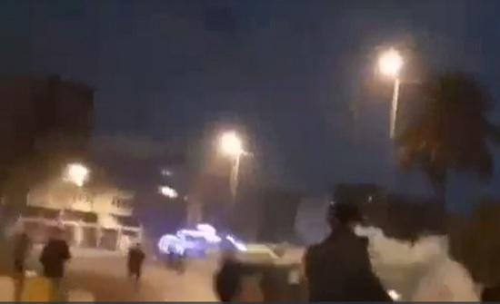 اشتباك بين الأمن ومحتجي بغداد.. انفجارات وحالات اختناق