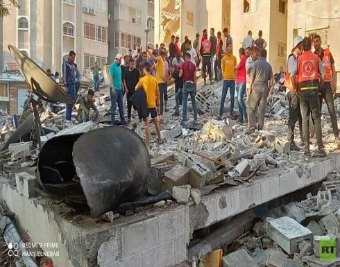 ارتفاع حصيلة شهداء الضربات الإسرائيلية على غزة إلى 177 قتيلا (صور)