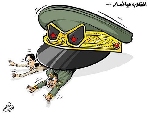 انقلاب ميانمار…
